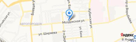 Корона на карте Астрахани