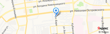 Q-ROOMS на карте Астрахани