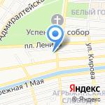 Астраханский театр юного зрителя на карте Астрахани