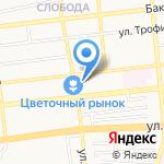 ДИЭЛ на карте Астрахани