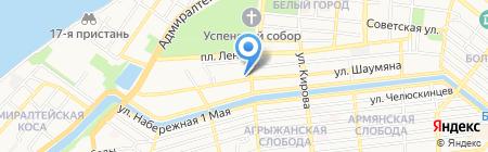 Газэнергосеть Поволжье на карте Астрахани