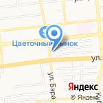 Федерация спортивной борьбы Астраханской области на карте Астрахани