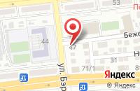 Схема проезда до компании Федерация спортивной борьбы Астраханской области в Астрахани