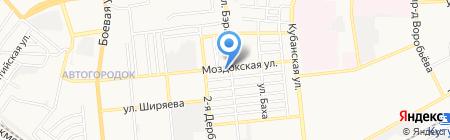 YARKO на карте Астрахани
