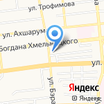 Федерация дзюдо Астраханской области на карте Астрахани