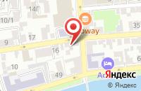 Схема проезда до компании Центр в Астрахани