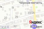 Схема проезда до компании Единая диспетчерская служба по грузовому транспорту и спецтехнике в Астрахани