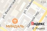 Схема проезда до компании Швейный мир в Астрахани