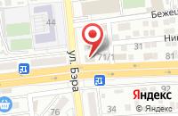 Схема проезда до компании ТехноМания в Астрахани