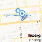Дорога в Мир на карте Астрахани