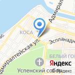 Детская художественная школа №1 на карте Астрахани