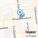 Гермес авто на карте Астрахани