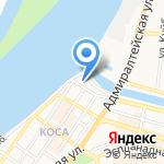 Дворец бракосочетания на карте Астрахани