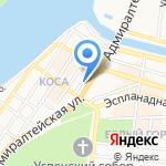 Оптика-люкс на карте Астрахани