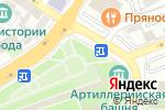 Схема проезда до компании Киоск по продаже меда в Астрахани