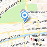 Волгоградский фонд сбережений на карте Астрахани