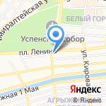 Добрый фермер на карте Астрахани