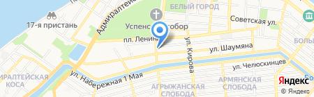 Burger club на карте Астрахани