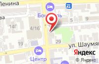 Схема проезда до компании Млада в Астрахани