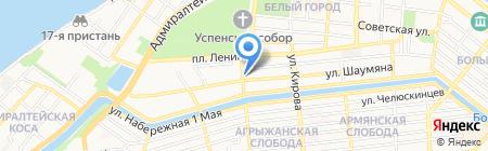 Буратин Карлович на карте Астрахани