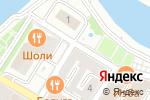 Схема проезда до компании Дворец моды в Астрахани