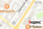 Схема проезда до компании Оптика-люкс в Астрахани