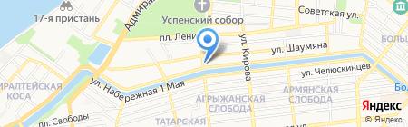 Специальная коррекционная общеобразовательная школа-интернат №5 для обучающихся воспитанников с ограниченными возможностями здоровья на карте Астрахани