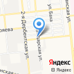 Интрига на карте Астрахани