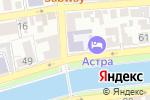 Схема проезда до компании Общеобразовательная школа-интернат №5 для обучающихся, воспитанников с ограниченными возможностями здоровья в Астрахани