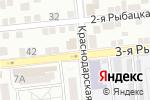 Схема проезда до компании Mc Doner в Астрахани