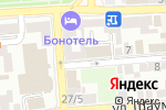 Схема проезда до компании Добрый фермер в Астрахани