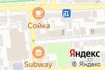 Схема проезда до компании Валенсия в Астрахани