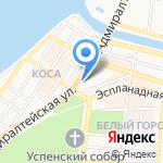 Тензор на карте Астрахани