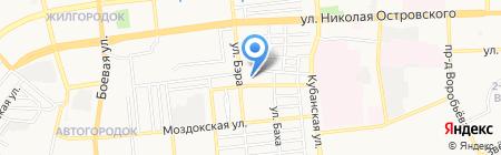 Оптово-розничная компания на карте Астрахани