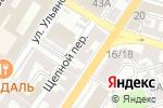 Схема проезда до компании Мята в Астрахани