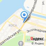 БКС Премьер на карте Астрахани