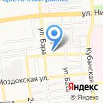 Ветеран на карте Астрахани