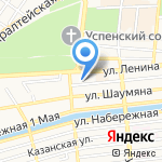 Студия красоты и стиля Светланы Горбачевой на карте Астрахани