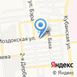 Творческая студия Елены Зотовой на карте Астрахани