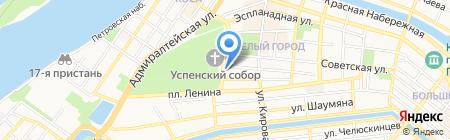 Букет Бутик на карте Астрахани