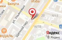 Схема проезда до компании Лили в Астрахани