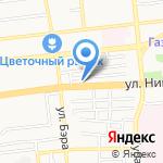 Олимп на карте Астрахани