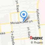Пекарня на карте Астрахани