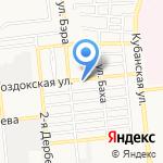 Чистый продукт на карте Астрахани
