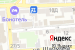 Схема проезда до компании Статус в Астрахани