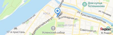 Мир кухни на карте Астрахани