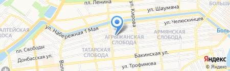 Мечеть №1 на карте Астрахани