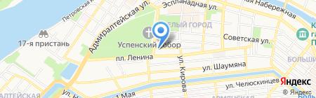 Государственная инспекция труда в Астраханской области на карте Астрахани