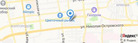 Пещера на карте Астрахани