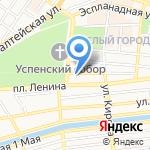 Отдел содействия занятости по Ленинскому району на карте Астрахани